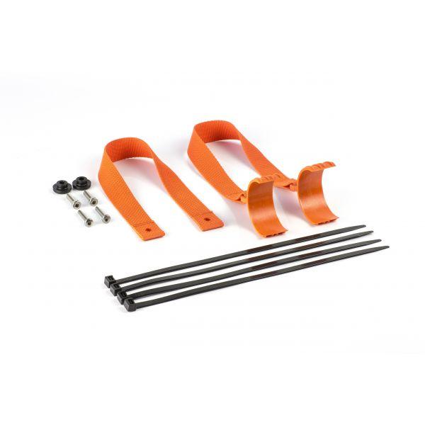 Accesorii MX-Enduro Extreme Parts Curea Tractare Fata+Spate KTM/HUSQ 17-19 Orange