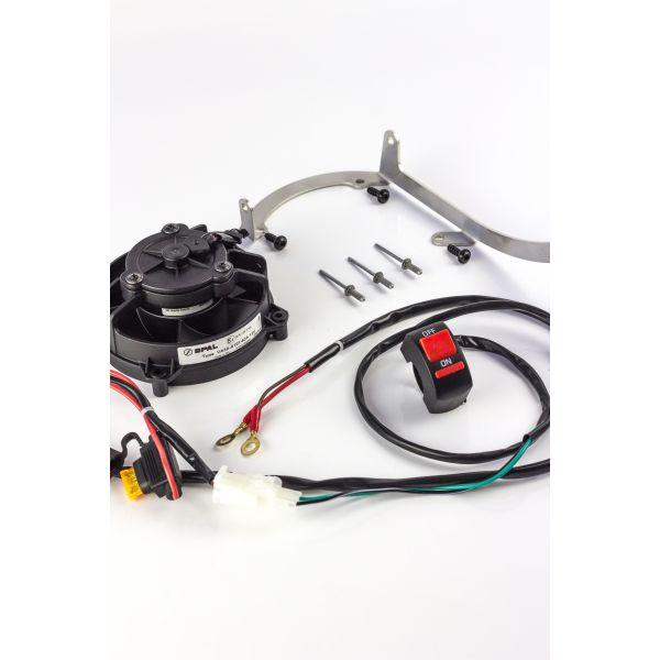 KTM Sistem Racire Extreme Parts Kit Ventilator KTM 17-18 Cu Buton On/Off
