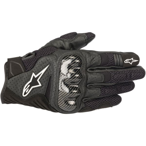 Manusi Moto Sport si Piele Alpinestars Manusi Moto Textile/Piele SMX-1 Air V2 Performance Black/White 2021