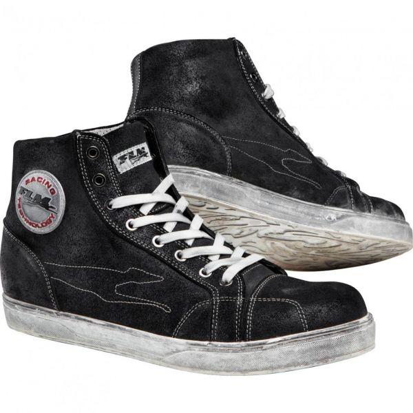Cizme Moto Scurte FLM LICHIDARE STOC Ghete City Shoe 1.0 Black
