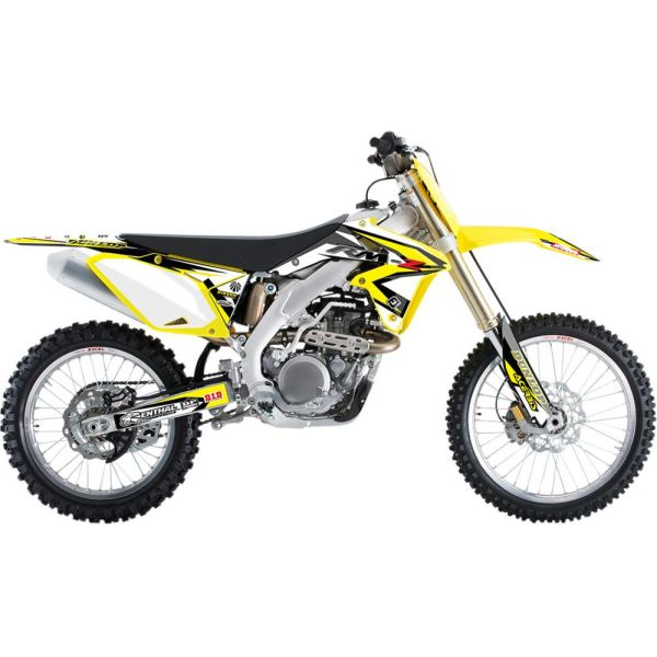 Graphics Flu Designs GRAPHIC P3 RMZ450 08-