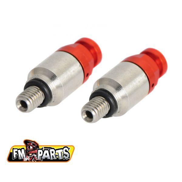 Accesorii Suspensii Fm-Parts  Aerisitoare Furca Showa/Kayaba Red M5