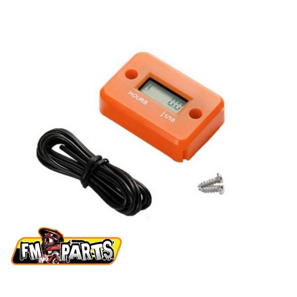 Accesorii MX-Enduro Fm-Parts Ceas Ore Functionare Watterproof Motocicleta / ATV Orange