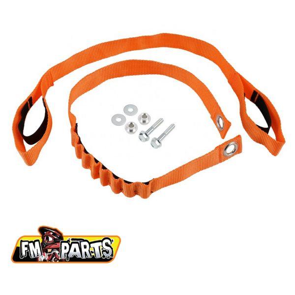 Accesorii MX-Enduro Fm-Parts Chingi fata + spate KTM 2020/2021 Orange