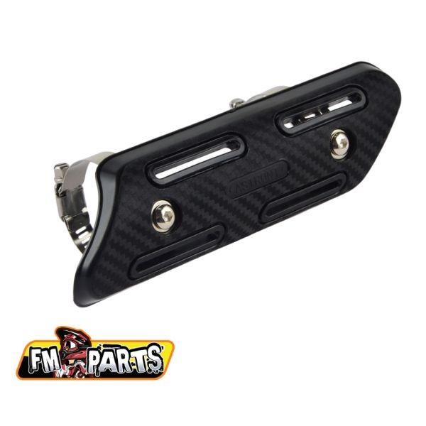 Accesorii Evacuare Fm-Parts Exhaust Protection 4 Stroke Universal Black