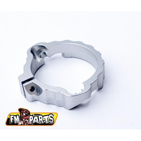 Accesorii Evacuare Fm-Parts Protectie Flansa Cilindru KTM/Husqvarna 250/300 2017-2021 Silver