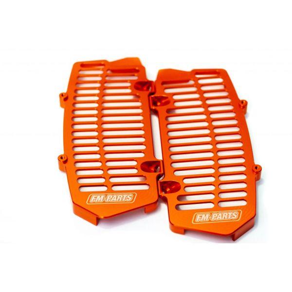Protectii Radiator Fm-Parts  Protectii Radiator UniBody KTM/Husqvarna 2020-2021 Orange