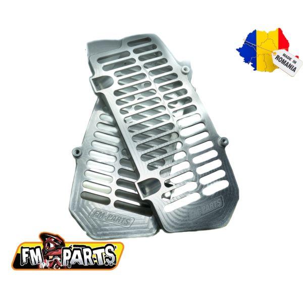 Protectii Radiator Fm-Parts  Protectii Radiator UniBody KTM/Husqvarna 2020-2021 Silver