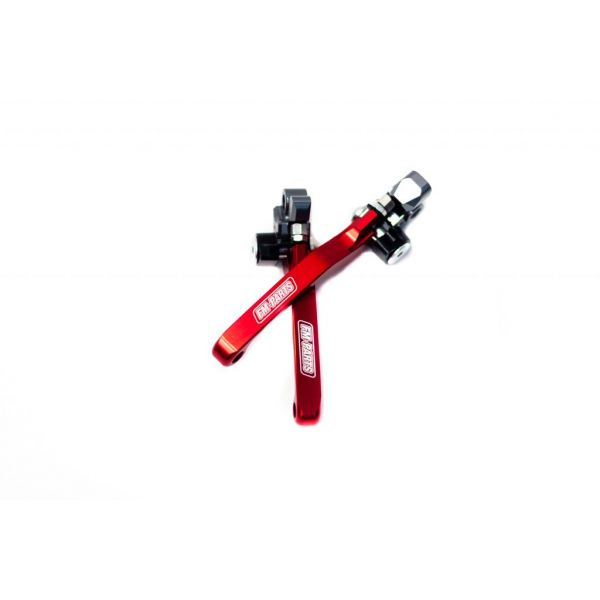 Manete si Comenzi MX Fm-Parts Set Manete Foldabile Beta RR 2013-2021 Red