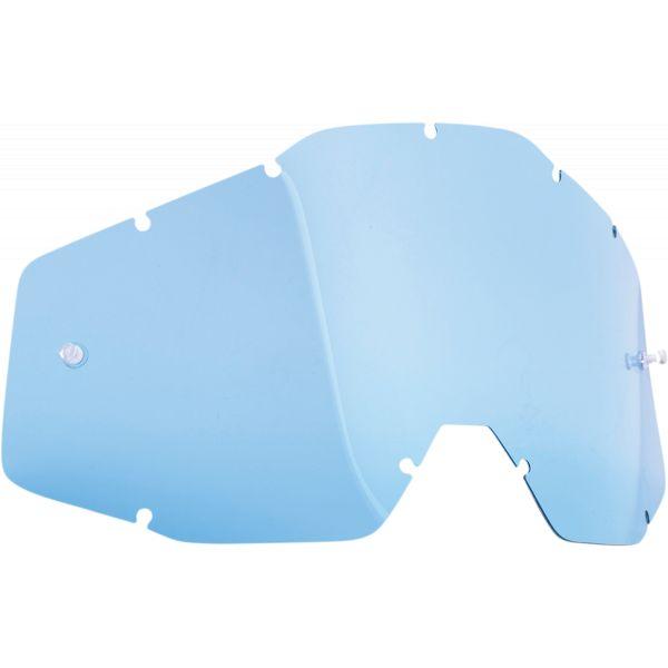 Accesorii Ochelari FMF Vision Lentila Colorata Anti-aburire Albastra F-51001-002-02