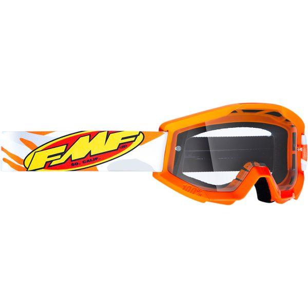 Ochelari MX-Enduro Copii FMF Vision Ochelari Moto Copii Assault Gray Lentila Clara F-50500-101-09