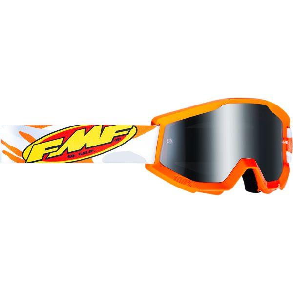 Ochelari MX-Enduro Copii FMF Vision Ochelari Moto Copii Assault Gray Lentila Oglinda Argintie F-50500-252-09