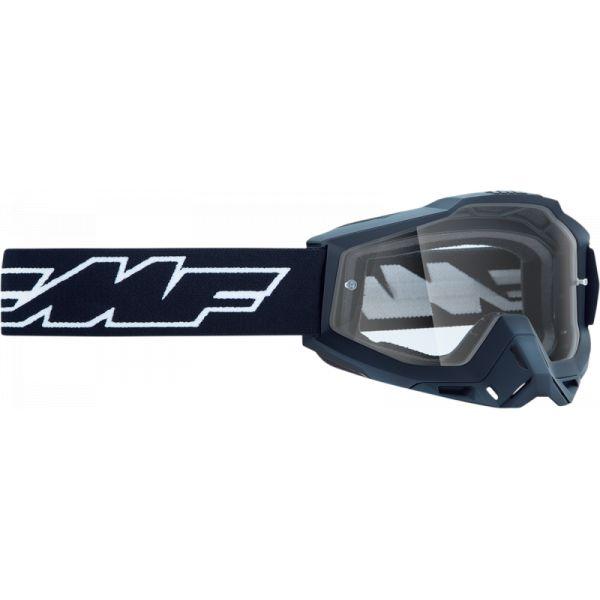 Ochelari MX-Enduro Copii FMF Vision Ochelari Moto Copii Rocket Black Lentila Clara F-50300-101-01