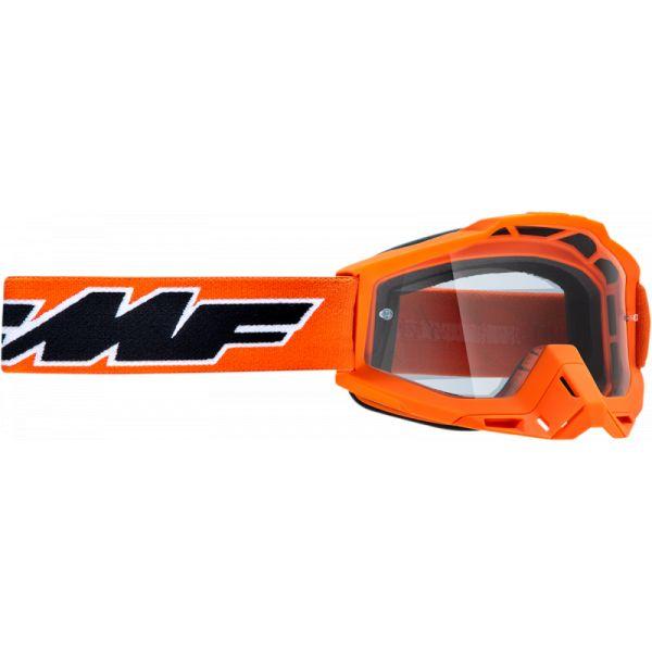 Ochelari MX-Enduro Copii FMF Vision Ochelari Moto Copii Rocket Orange Lentila Clara F-50300-101-05