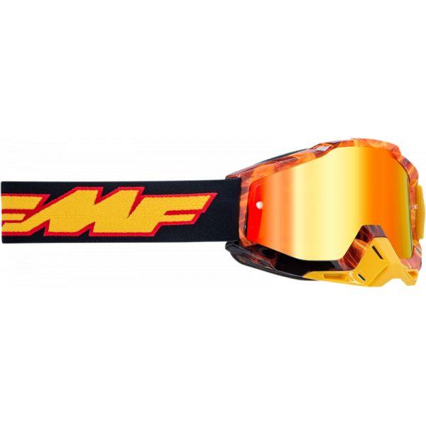 Ochelari MX-Enduro Copii FMF Vision Ochelari Moto Copii Spark Lentila Oglinda Rosie F-50300-251-06