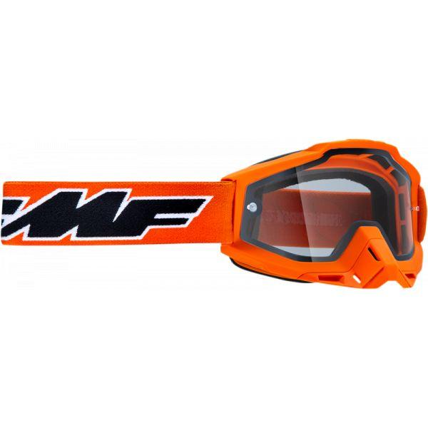Ochelari MX-Enduro FMF Vision Ochelari Moto Enduro Rocket Orange Lentila Clara F-50202-501-05