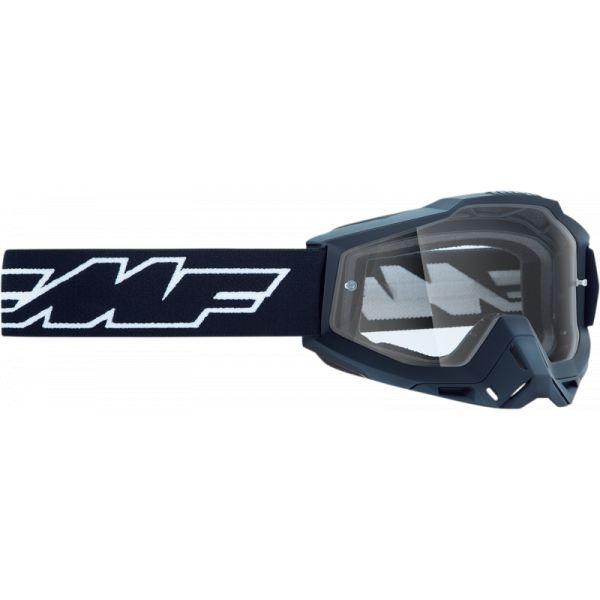 Ochelari MX-Enduro FMF Vision Ochelari Moto OTG Rocket Black Lentila Clara F-50204-101-01