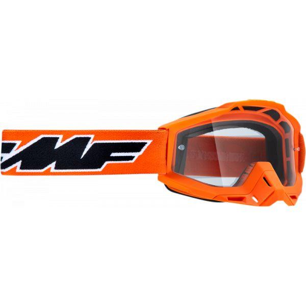 Ochelari MX-Enduro FMF Vision Ochelari Moto OTG Rocket Orange Lentila Clara F-50204-101-05