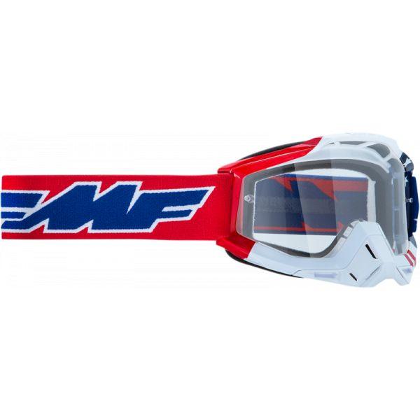 Ochelari MX-Enduro FMF Vision Ochelari Moto Us of A Lentila Clara F-50200-101-07