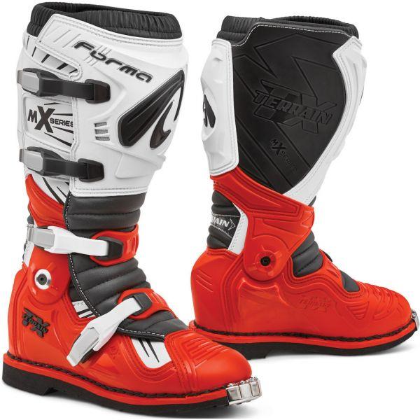 Cizme MX-Enduro Forma Cizme Moto MX Terrain TX Red/White