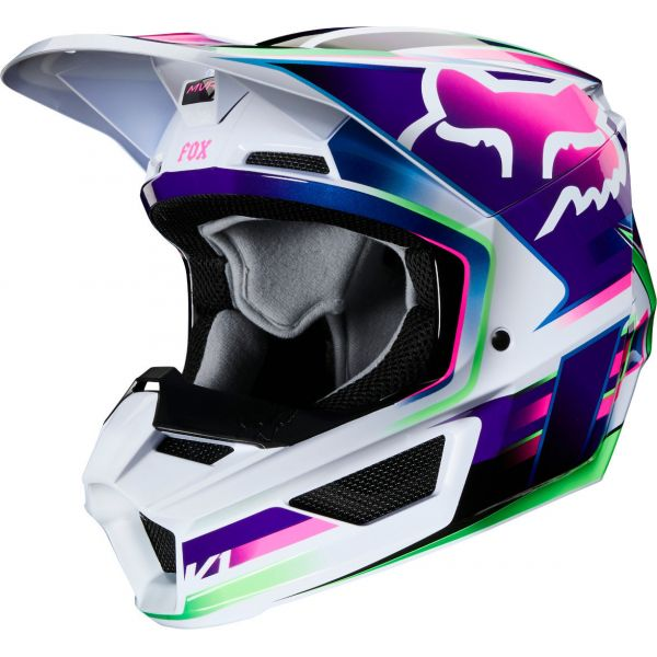 Casti MX-Enduro Copii Fox Casca MX Copii Multicolor V1 Gama MVRS ECE 2020