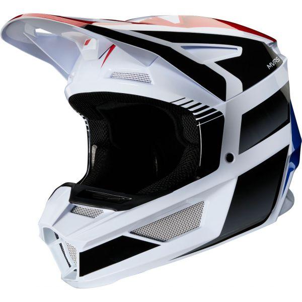 Casti MX-Enduro Copii Fox Casca MX Copii V2 Hayl MVRS ECE Albastru/Rosu 2020
