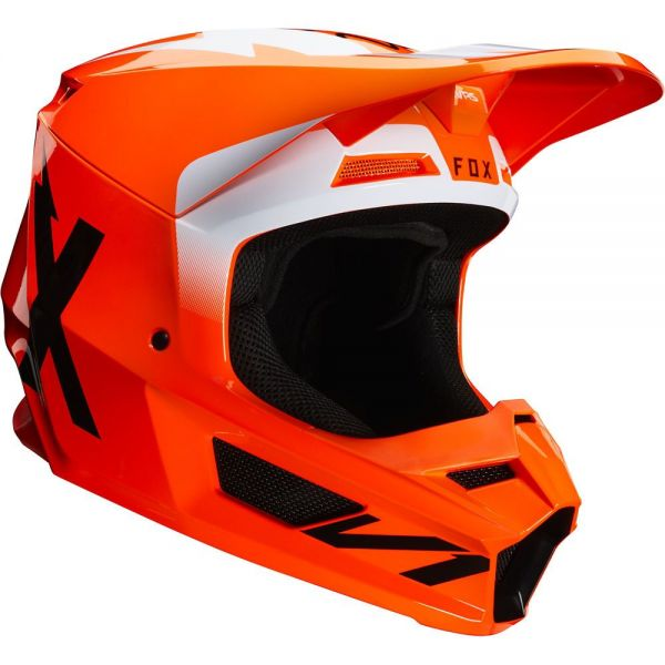 Fox Casca V1 Prix ECE Flame Red 2020