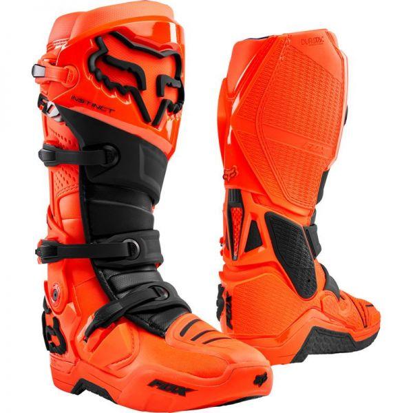 Cizme MX-Enduro Fox Cizme Instinct Flo Orange 2020
