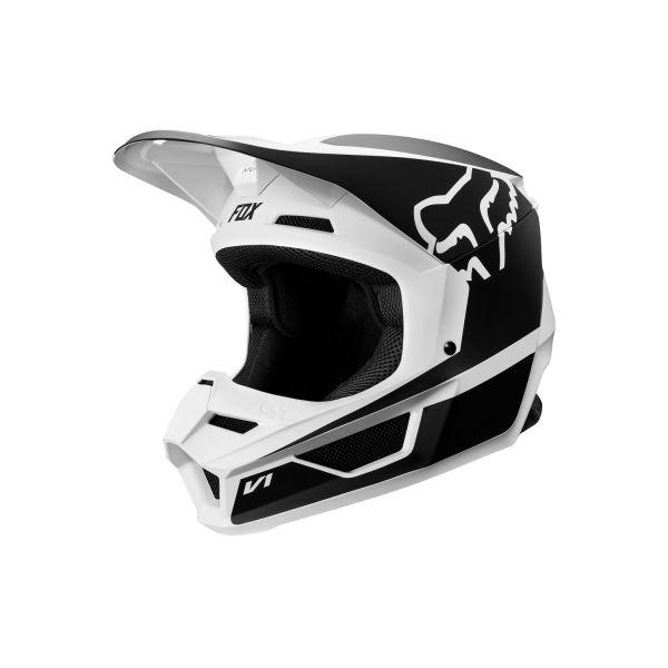 Casti Bike Fox Fox Casca V1 Przm Bk/Wh