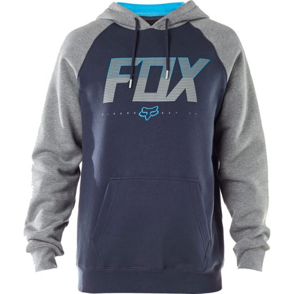 Geci Casual Fox Hanorac Katch Pullover Fleece Blue/Grey