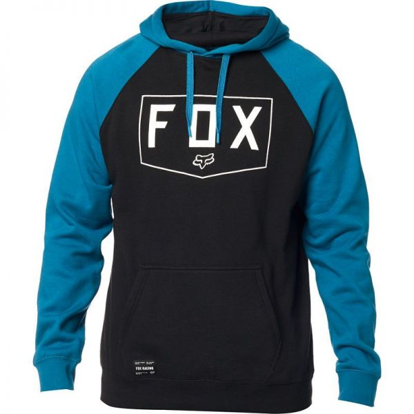 Geci/Hanorace Casual Fox Hanorac Shield Raglan Po Fleece Blue 2020