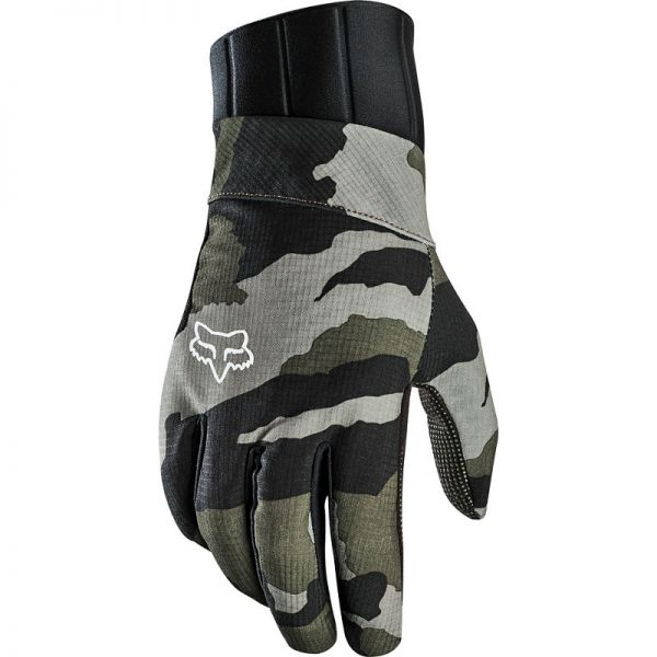 Manusi MX-Enduro Fox Manusi Defend Pro Fire Green Camo 2020