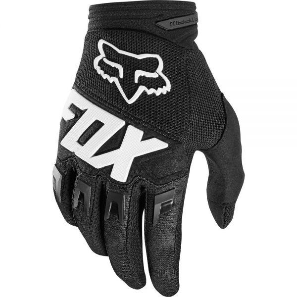 Manusi MX-Enduro Fox Manusi Dirtpaw Black/White