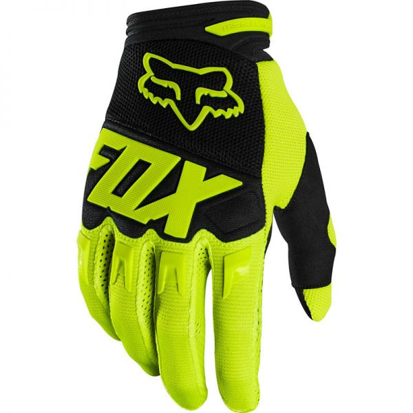 Manusi MX-Enduro Fox Manusi Dirtpaw Black/Yellow 2020