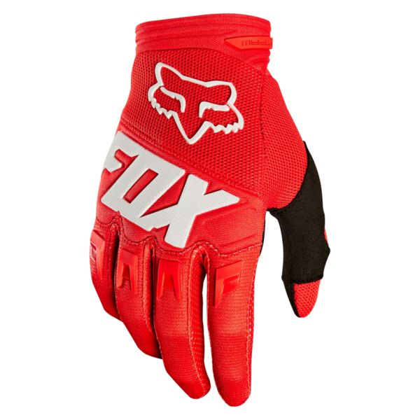 Manusi MX-Enduro Fox Manusi Dirtpaw Red/White 2020