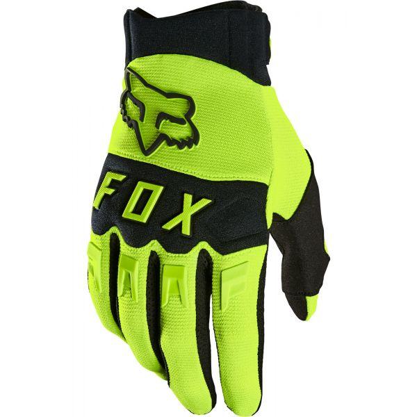 Manusi MX-Enduro Fox Manusi Moto Dirtpaw Yellow MX21