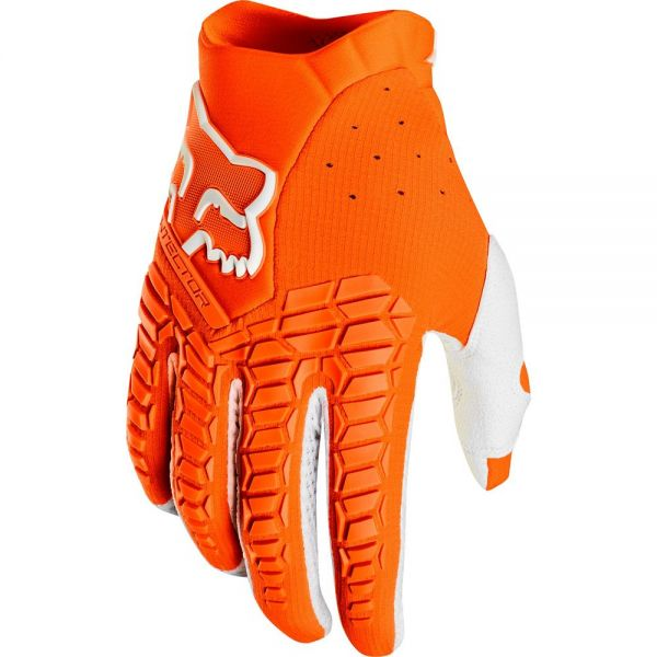Manusi MX-Enduro Fox Manusi Pawtector Orange/White