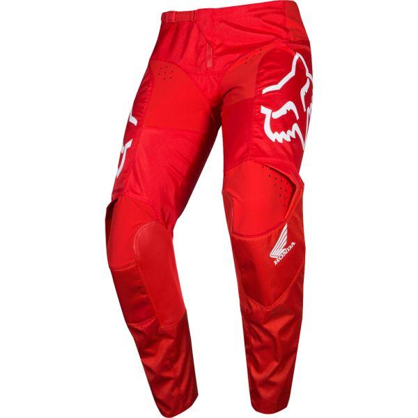 Pantaloni MX-Enduro Fox Pantaloni 180 Honda Red/White 2019