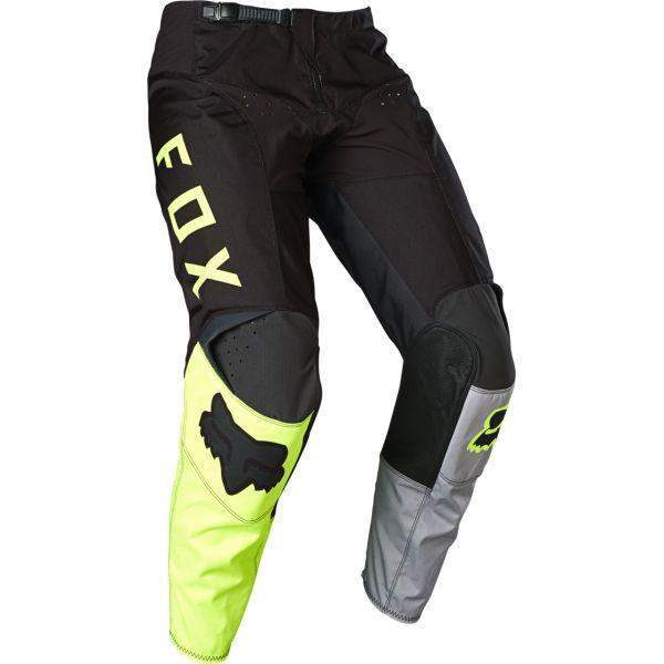Pantaloni MX-Enduro Fox Pantaloni 180 LOVL Black/Yellow 2020