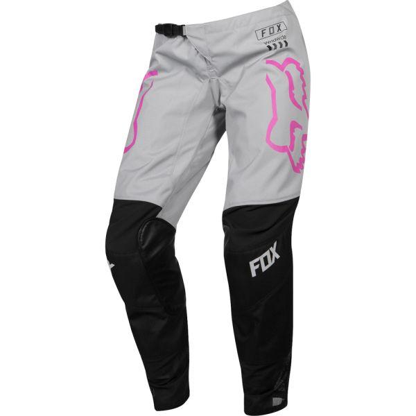 Pantaloni MX-Enduro Fox Pantaloni 180 Mata Gray/Pink 2019 Dama