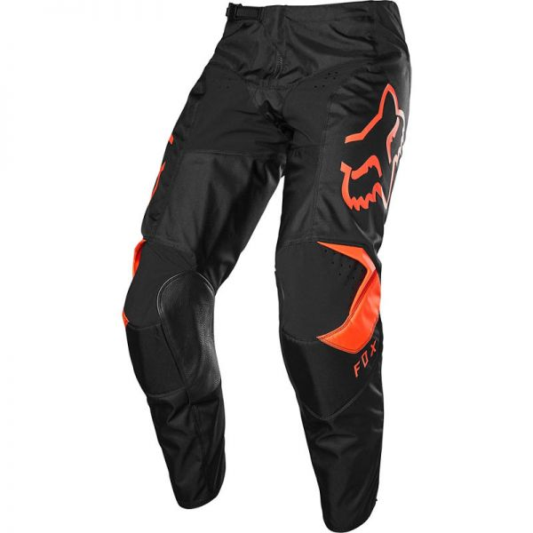Pantaloni MX-Enduro Fox Pantaloni 180 Prix Black/Orange 2020