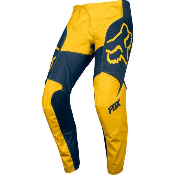 Fox Pantaloni 180 PRZM Navy/Yellow 2019