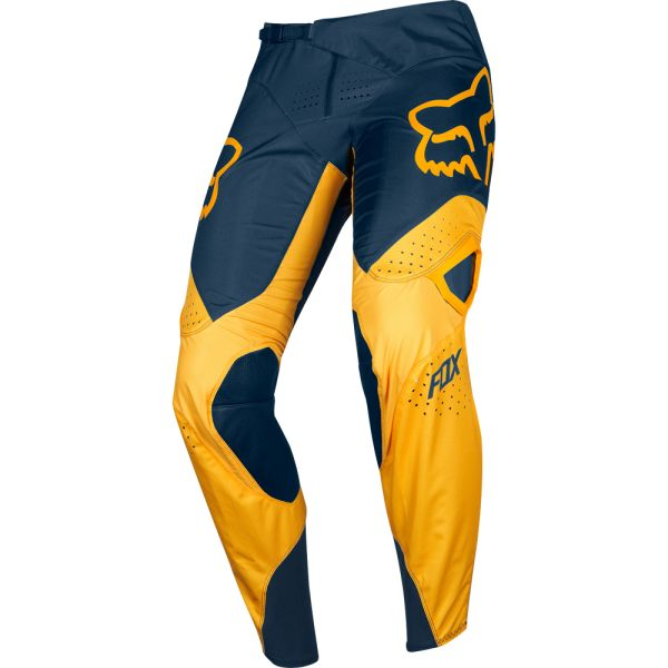 Pantaloni MX-Enduro Fox Pantaloni 360 Kila Navy/Yellow 2019