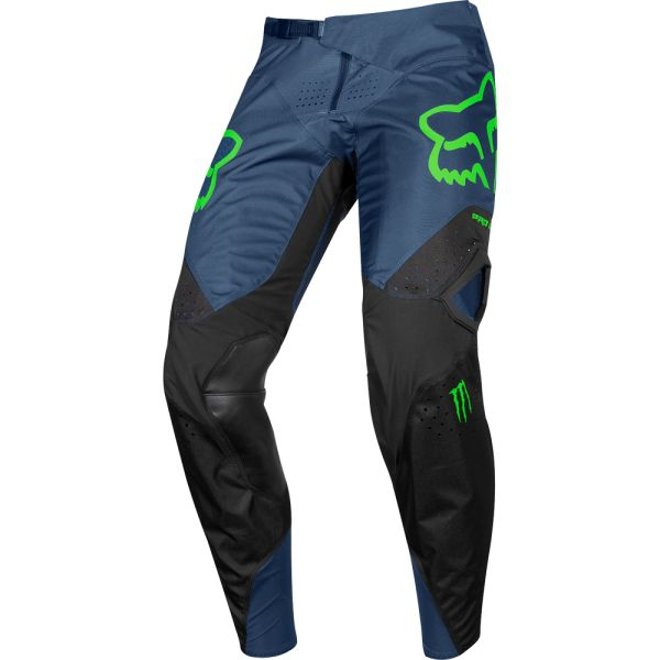 Pantaloni MX-Enduro Fox Pantaloni 360 PC Navy/Green 2019