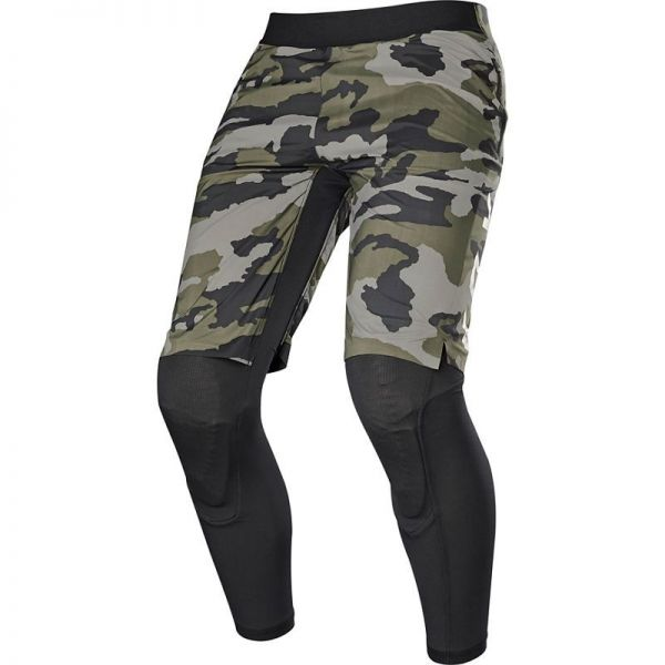 Fox Pantaloni Defend 2 In 1 Winter Short Green Camo 2020