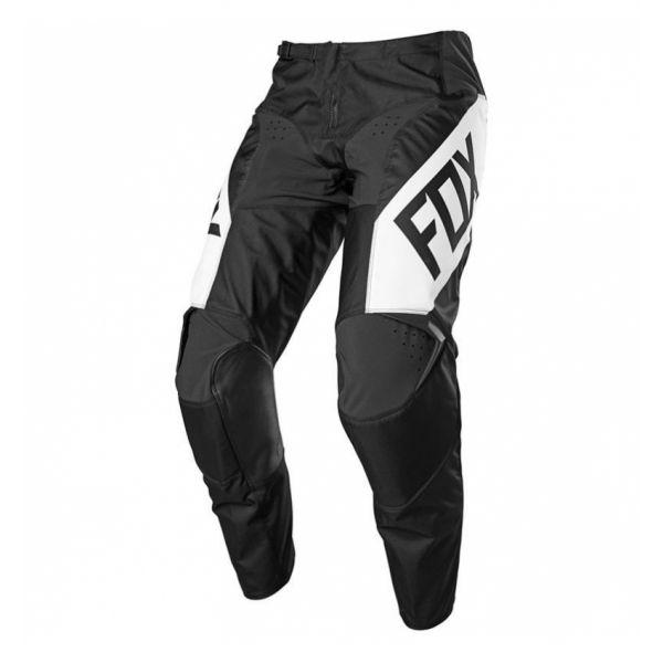 Pantaloni MX-Enduro Fox Pantaloni MX 180 REVN Negru/Alb