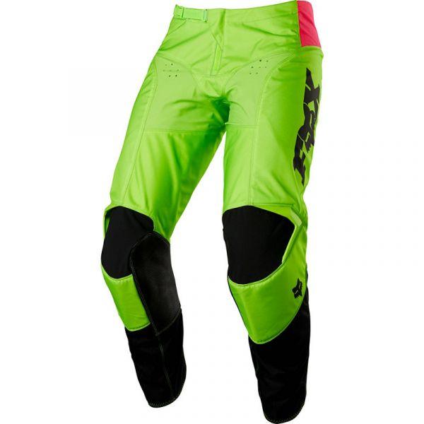 Pantaloni MX-Enduro Fox Pantaloni MX 180 Venim Limited Edition Negru/Verde 2020