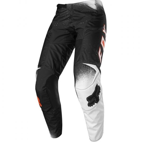 Pantaloni MX-Enduro Copii Fox Pantaloni MX Copii 180 Bnkz Se Negru/Alb 2020