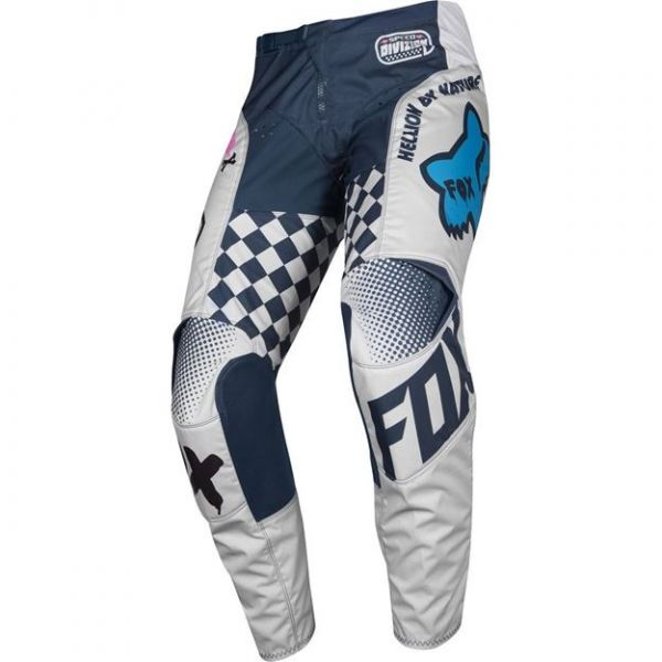 Pantaloni MX-Enduro Copii Fox Pantaloni MX Copii 180 Czar gri 2020