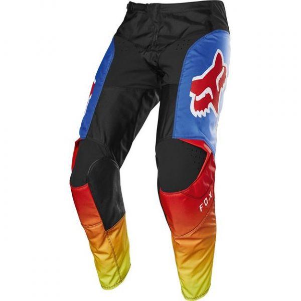 Pantaloni MX-Enduro Copii Fox Pantaloni MX Copii 180 Fyce Albastru/Rosu 2020